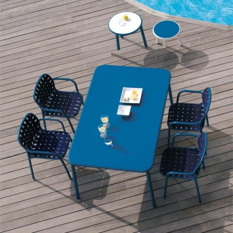 chaise yard emu bleu