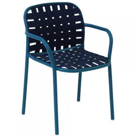 fauteuil yard emu bleu