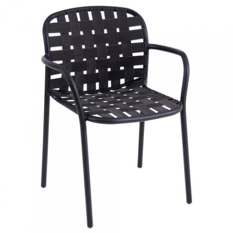 fauteuil yard emu noir