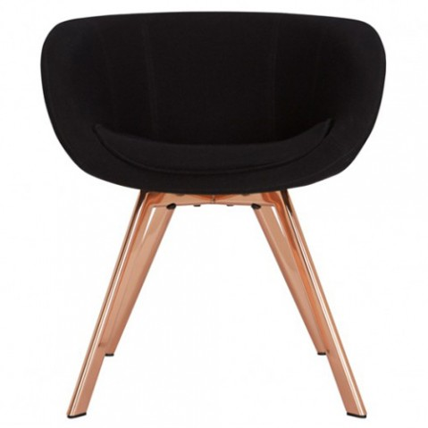 FAUTEUIL SCOOP LOW, 2 couleurs de TOM DIXON