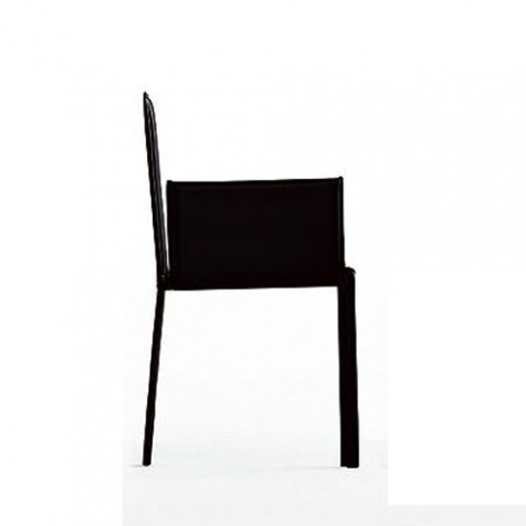 Kristalia Fauteuil Slim noir