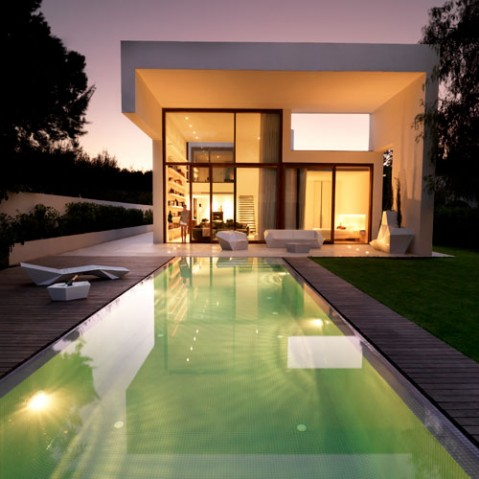 Faz Bain De Soleil Design Vondom Blanc