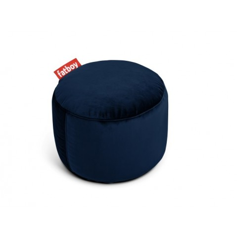 POUF POINT VELVET Dark Blue, de FATBOY