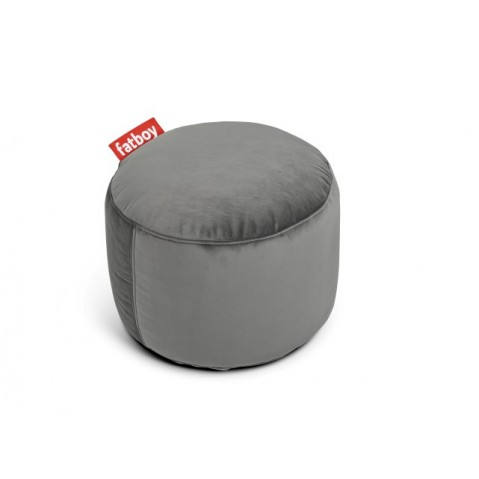 POUF POINT VELVET Taupe, de FATBOY