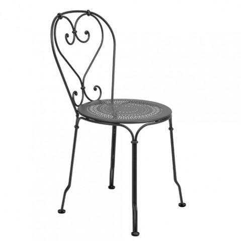 chaise 1900 fermob carbone