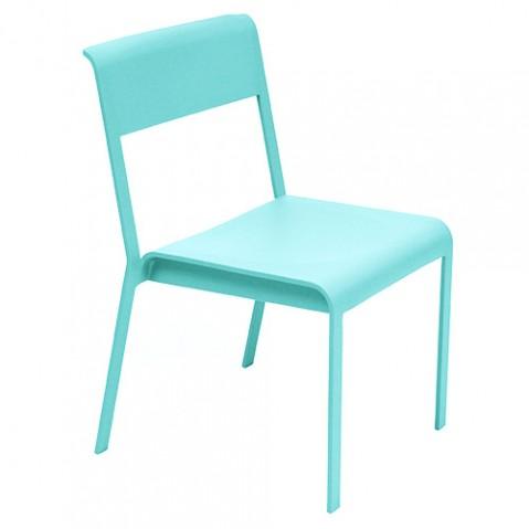 chaise bellevie fermob bleu lagune