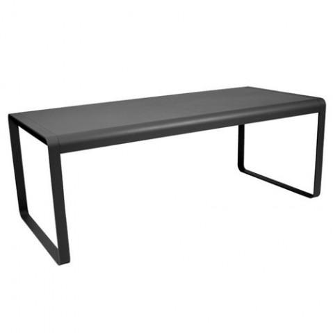table bellevie fermob carbone