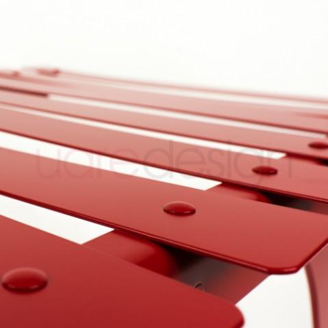 Bistro Chaise Longue Design Fermob Coquelicot