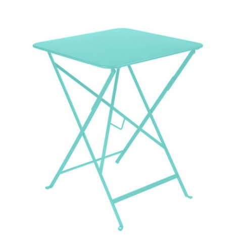 table bistro 57 fermob bleu lagune