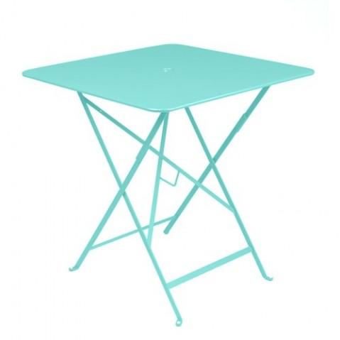 table bistro 71 fermob bleu lagune