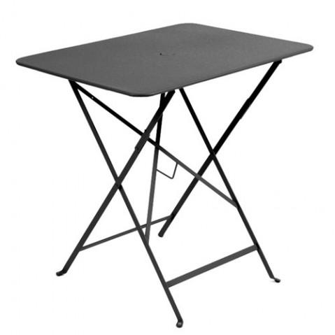 table pliante bistro 77x57cm fermob carbone