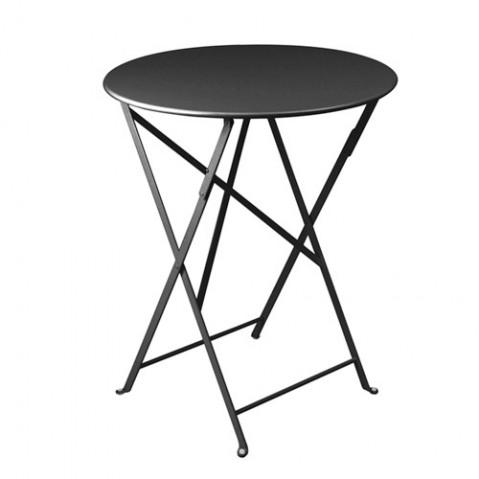 table pliante bistro 60cm fermob carbone