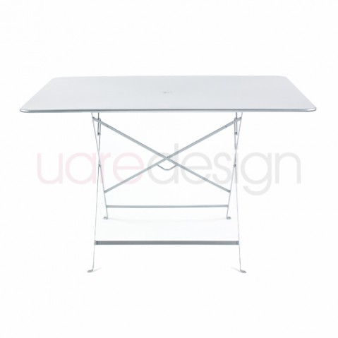 grande table bistro fermob gris metal
