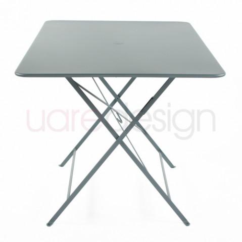 grande table bistro fermob gris orage