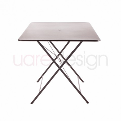 Bistro Fermob Table 117 77 cm Rouille