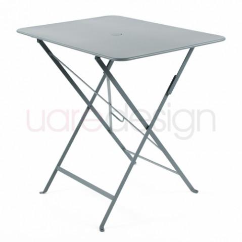 table bistro 77 57 fermob gris orage