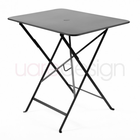 table rectangulaire 77 bistro fermob reglisse