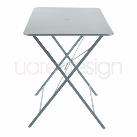 table rectangulaire 97 bistro fermob gris orage