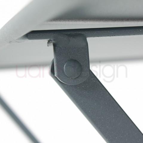 table rectangulaire 97 bistro fermob gris orage