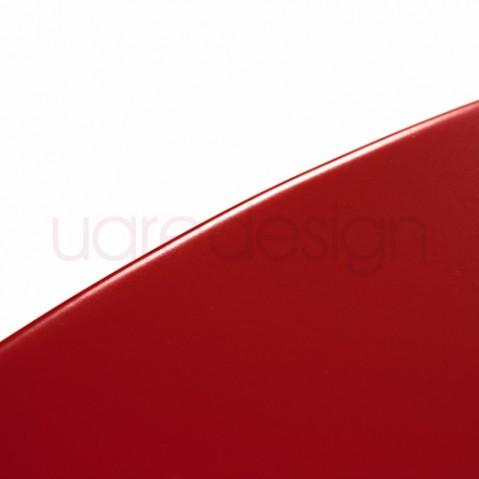 Bistro Table Ronde 60 Design Fermob Coquelicot