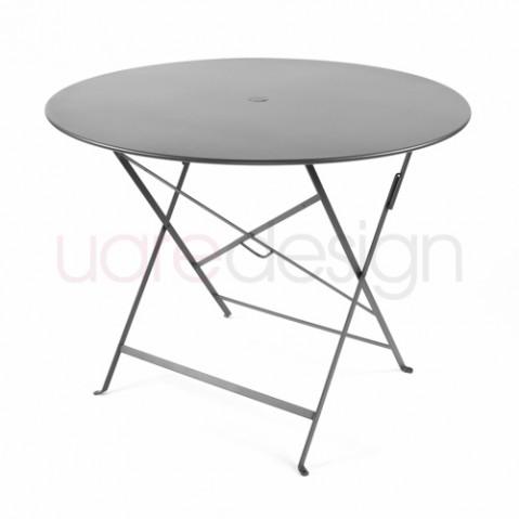 table pliante bistro 96 fermob carbone