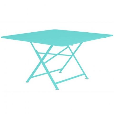 table pliante cargo fermob bleu lagune