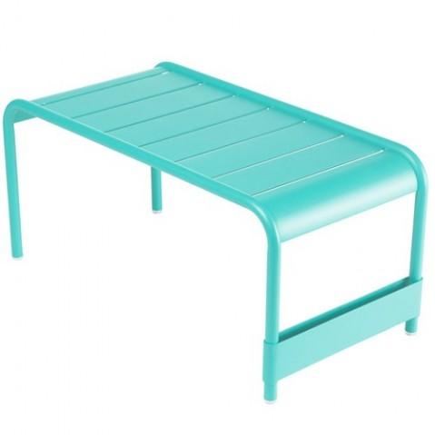 grande table basse luxembourg fermob bleu lagune