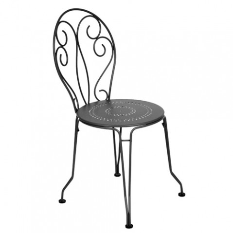 chaise montmartre fermob carbone
