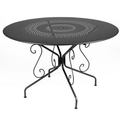 table montmartre 117cm fermob carbone