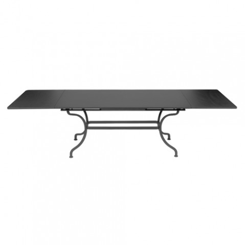table a allonges romane fermob carbone