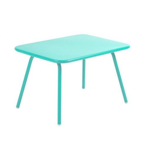 table luxembourg kid fermob bleu lagune