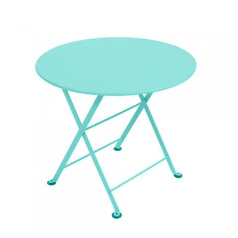 table basse tom pouce fermob bleu lagune