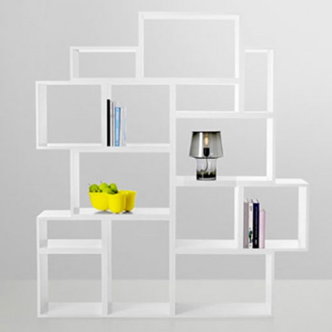 Stacked Medium Etagere Design Muuto Blanc