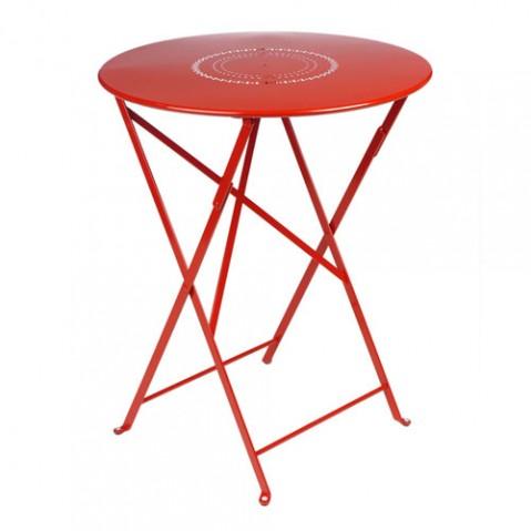 Floreal Table 60 cm Design Fermob Coquelicot