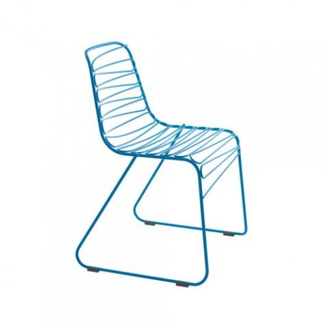 Flux Magis chaise design bleu