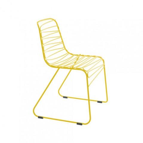 Flux Magis chaise design jaune