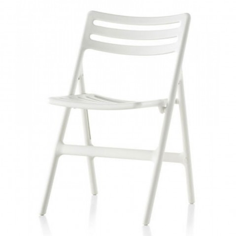 CHAISE PLIANTE FOLDING AIR, Blanc de MAGIS