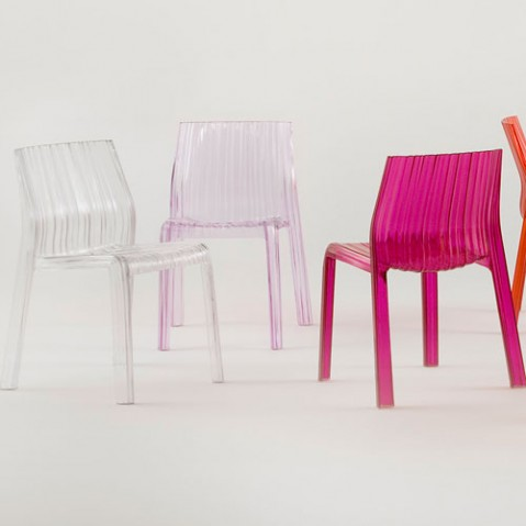 Frilly Chaise Design Kartell Cristal