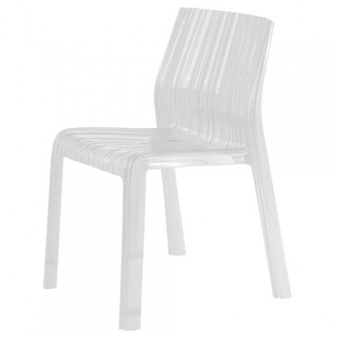 Frilly Chaise Design Kartell Blanc