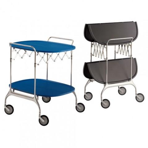 Gastone Chariot Design Kartell Bleu