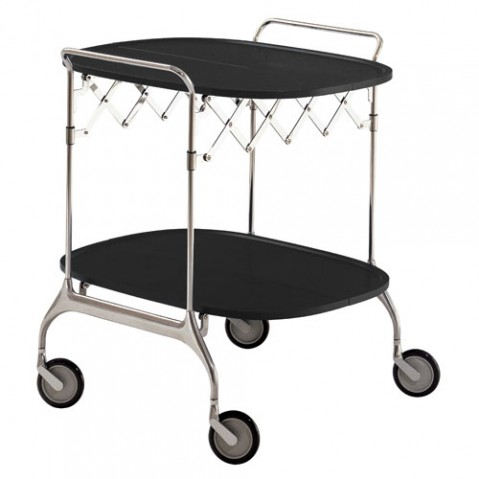 Gastone Chariot Design Kartell Noir