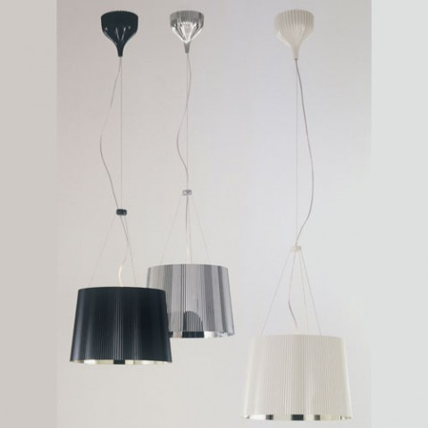 Gè Suspension Design Kartell Noir Doré