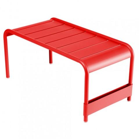 Luxembourg Grande Table Basse Design Fermob Coquelicot