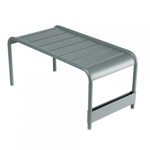 grande table basse luxembourg fermob gris orage