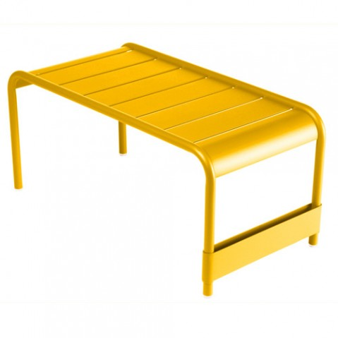 grande table basse luxembourg fermob miel