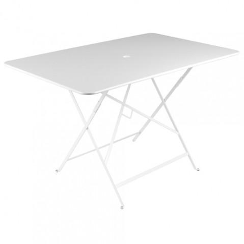 grande table bistro fermob blanc