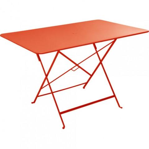 table bistro 117 fermob capucine