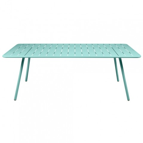 table luxembourg 207 fermob bleu lagune