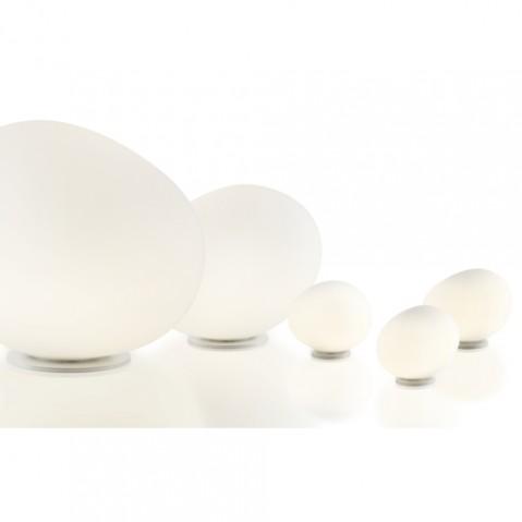 Gregg Piccola Lampe a poser Foscarini Blanc