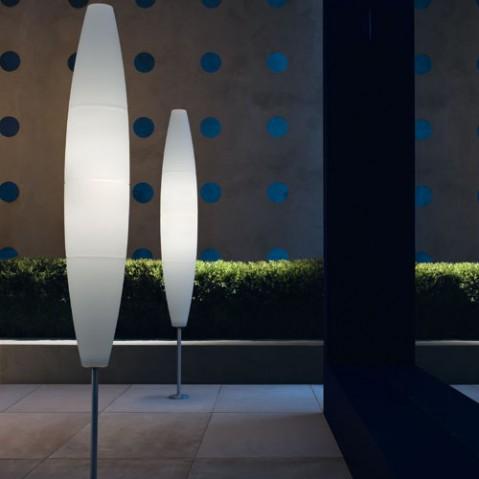 lampadaire exterieur havana oudoor foscarini piquet blanc